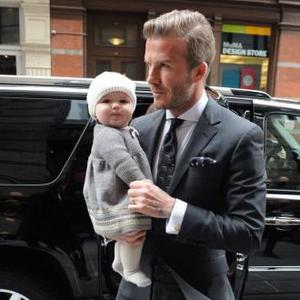 David Beckham Works To Fund Daughter's Clothes