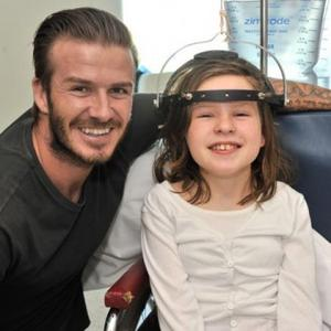 David Beckham Visits Sick Australian Kids
