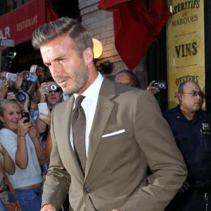 David Beckham Wants James Bond's Car