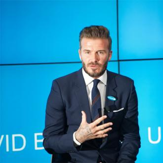 David Beckham Trimmed Beard For Victoria