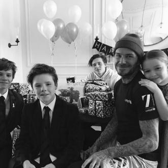 David Beckham gets quad bike for his birthday