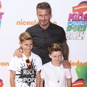David Beckham: My Success Puts Pressure On Sons