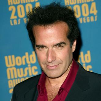 David Copperfield is engaged