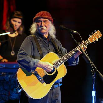 David Crosby says music 'saved his butt' after his biological son's death