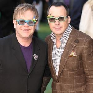 David Furnish Buzzes Off To La Over Bee Sting