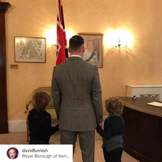 David Furnish gets British citizenship