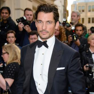David Gandy works out 'five times a week' before a shoot