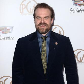 David Harbour And Millie Bobby Brown Fight Like Father And Daughter On Set