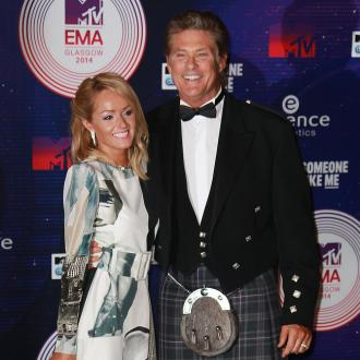 David Hasselhoff's girlfriend wants kids