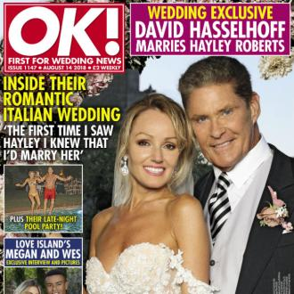 David Hasselhoff didn't think it was 'right' to marry wife Hayley before now