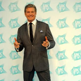 David Hasselhoff Wears Own Mask To Be Anonymous