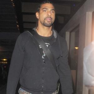 Model Boxer David Haye