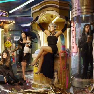 Kardashians Unveil Futuristic Family Christmas Card