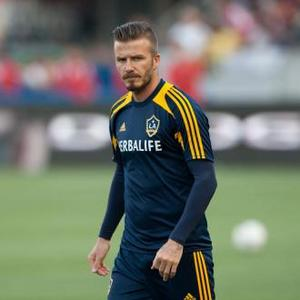 David Beckham Left Next China President Team Star Struck