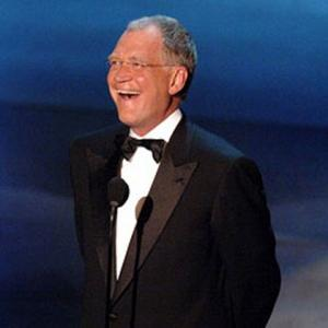 David Letterman Receives Excellence Award