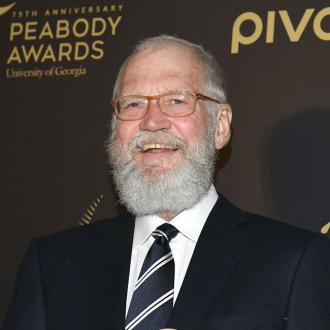 David Letterman feels 'secure' around his son