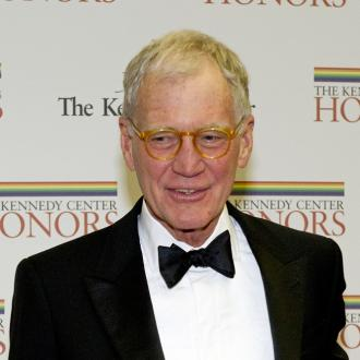 David Letterman unable to use phone