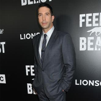 David Schwimmer taking time apart from wife