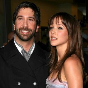 David Schwimmer Renews Wedding Vows