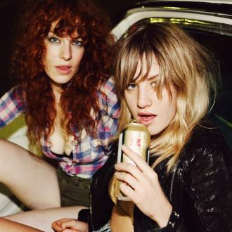 Deap Vally to work with Lindsay Lohan?
