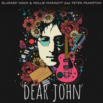 Peter Frampton and Mollie Marriott feature on 'Dear John' Lennon charity single