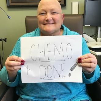 Debbie Rowe Finished Chemotherapy