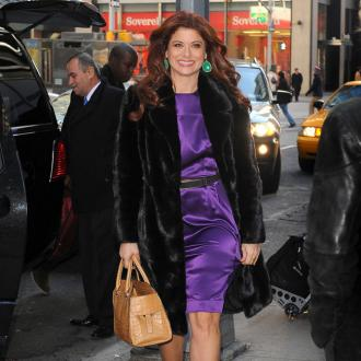 Debra Messing misses junk food