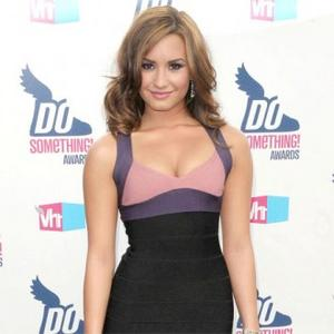 Demi Lovato Kisses Ex At Family Guy Party