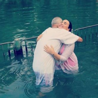 Demi Lovato Baptised In Israel