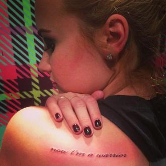 Demi Lovato's Mother Hates Her Tattoos