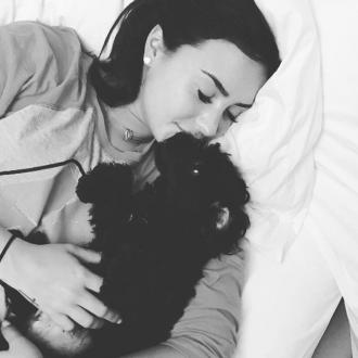 Demi Lovato makes Instagram account for dog Batman