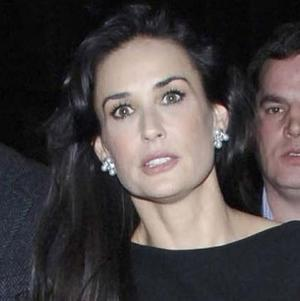 Demi Moore Smiles Away The Years