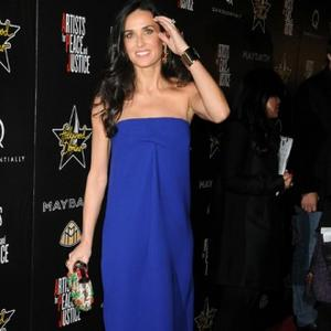 Demi Moore's Unhappy Skinniness