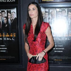 Demi Moore Partied With Miley Before Hospitalisation