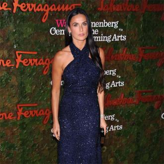 Demi Moore Enjoys Date Night