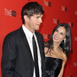 Demi Moore And Ashton Announce Charity Plans