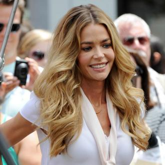Denise Richards' Kids Help Her Work Out