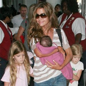 Denise Richards Steps Out With New Daughter