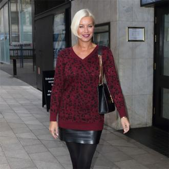 Denise Van Outen cried over heel injury