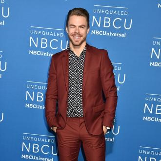 Derek Hough wore his sisters' hand-me-downs