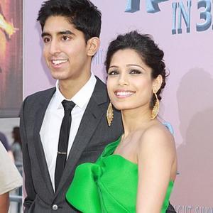 Dev Patel Calms Mother
