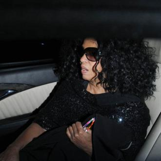 Diana Ross Storms Out Of Restaurant