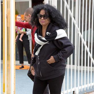Diana Ross 'choked up' at son's wedding
