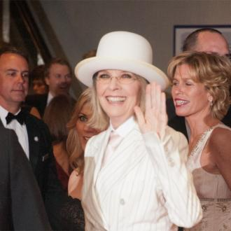 Diane Keaton Loves Kissing Her Co-stars
