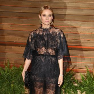 Diane Kruger swaps cat pictures with Karl Lagerfeld