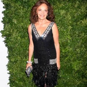 Diane Von Furstenberg Helps Earthquake Victims