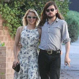 Dianna Agron and Winston Marshall marry