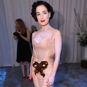 Dita Von Teese Keen For Own Cosmetics Line