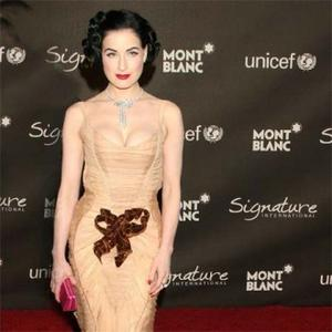Dita Von Teese's Wallpaper Obsession