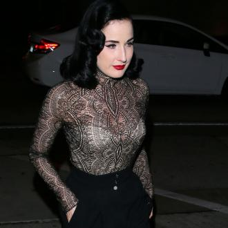 Dita Von Teese urges people to be more aware of HIV